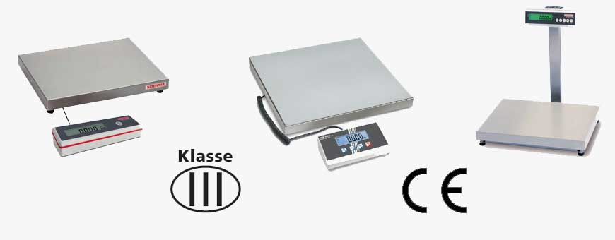 Certified scales